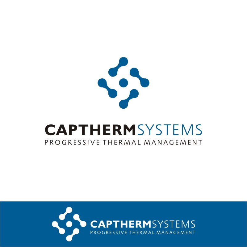 Logo Design by Private User - Entry No. 88 in the Logo Design Contest CapTherm Logo.