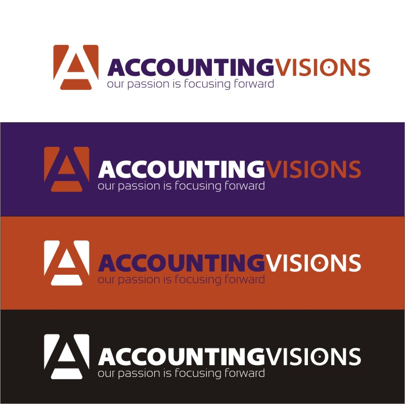 Logo Design by Private User - Entry No. 53 in the Logo Design Contest Accounting Visions.