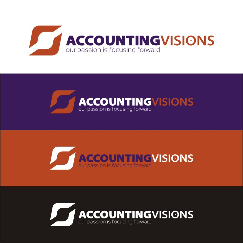 Logo Design by Private User - Entry No. 54 in the Logo Design Contest Accounting Visions.
