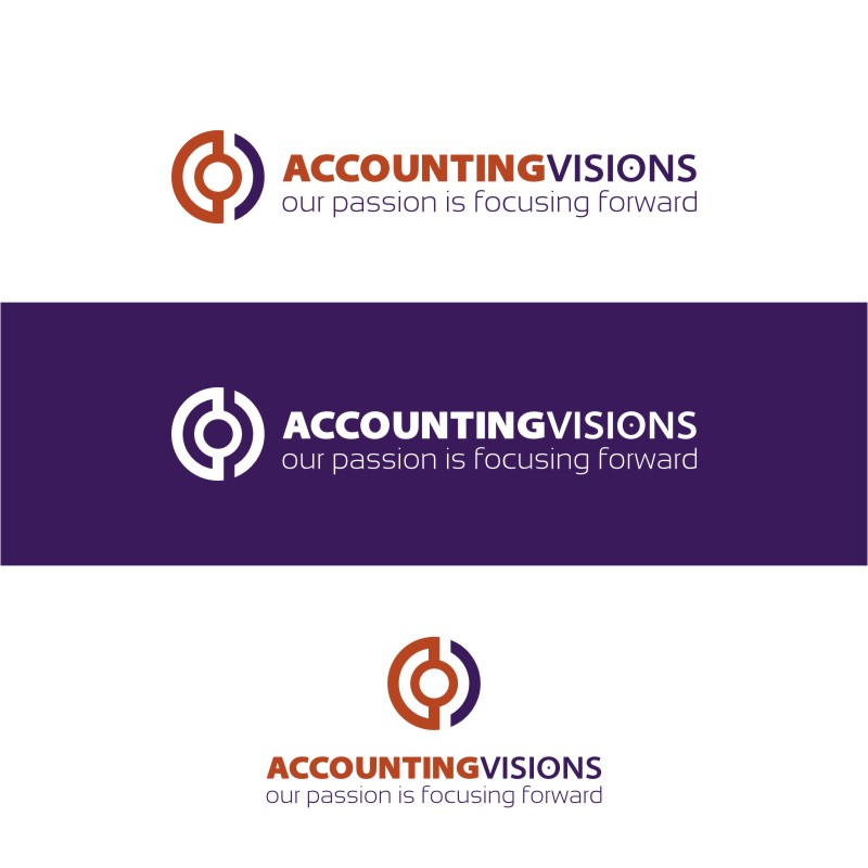 Logo Design by Private User - Entry No. 55 in the Logo Design Contest Accounting Visions.