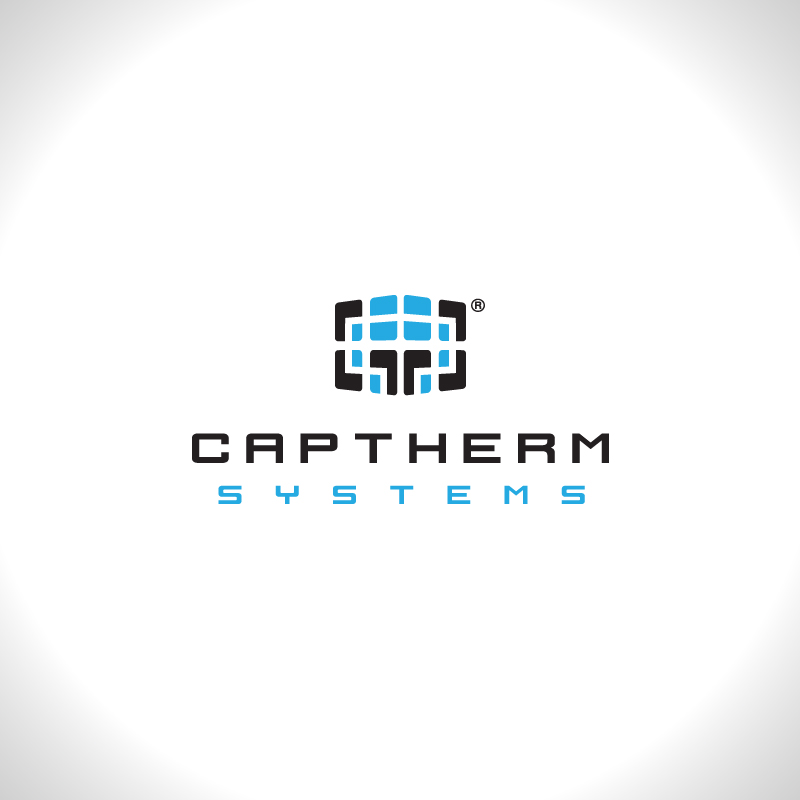 Logo Design by Number-Eight-Design - Entry No. 91 in the Logo Design Contest CapTherm Logo.