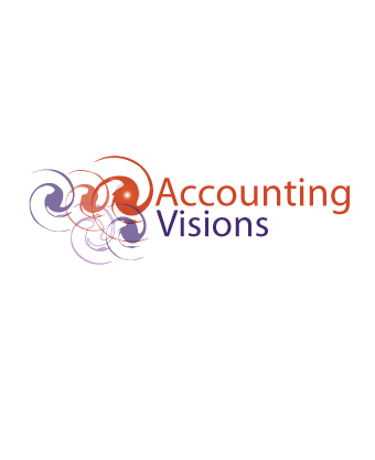 Logo Design by Private User - Entry No. 58 in the Logo Design Contest Accounting Visions.