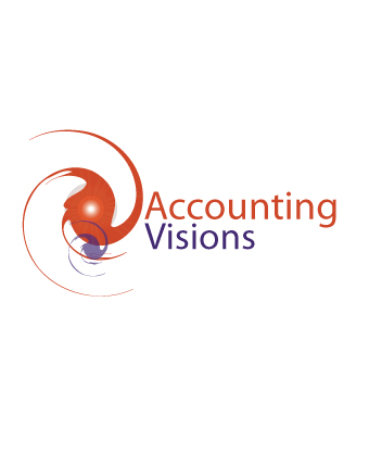 Logo Design by Private User - Entry No. 59 in the Logo Design Contest Accounting Visions.