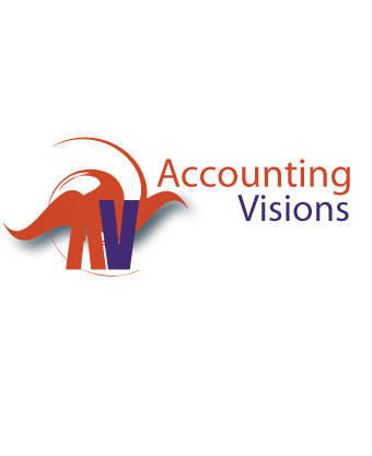 Logo Design by Private User - Entry No. 61 in the Logo Design Contest Accounting Visions.