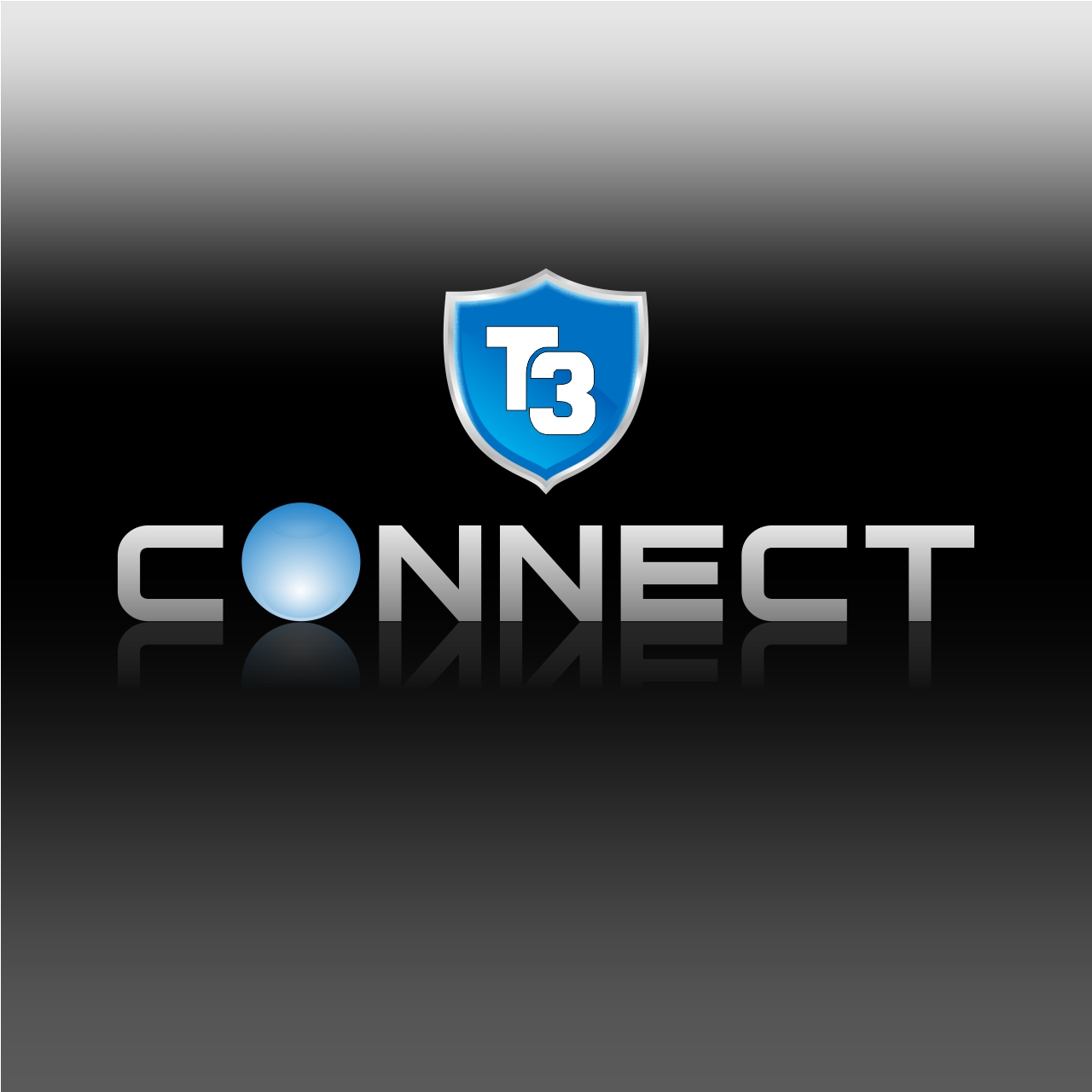 Logo Design by martinz - Entry No. 15 in the Logo Design Contest T3 CONNECT Sports Marketing logo.
