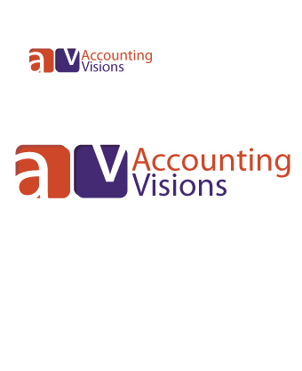 Logo Design by Private User - Entry No. 66 in the Logo Design Contest Accounting Visions.