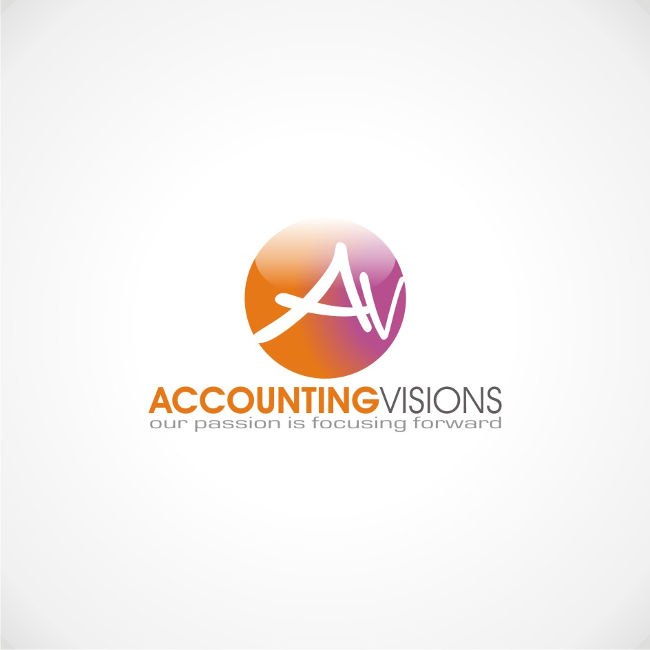Logo Design by chandezin - Entry No. 69 in the Logo Design Contest Accounting Visions.