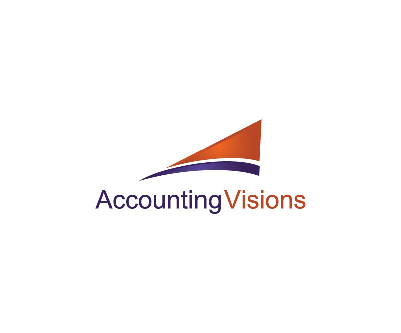 Logo Design by Private User - Entry No. 70 in the Logo Design Contest Accounting Visions.