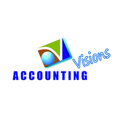Logo Design by rythmx - Entry No. 71 in the Logo Design Contest Accounting Visions.