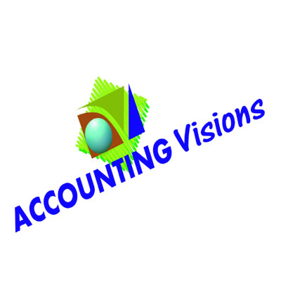 Logo Design by rythmx - Entry No. 72 in the Logo Design Contest Accounting Visions.