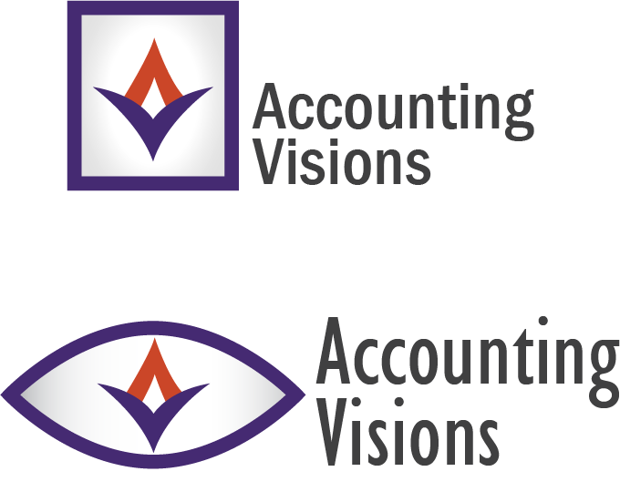 Logo Design by evtaylor - Entry No. 73 in the Logo Design Contest Accounting Visions.