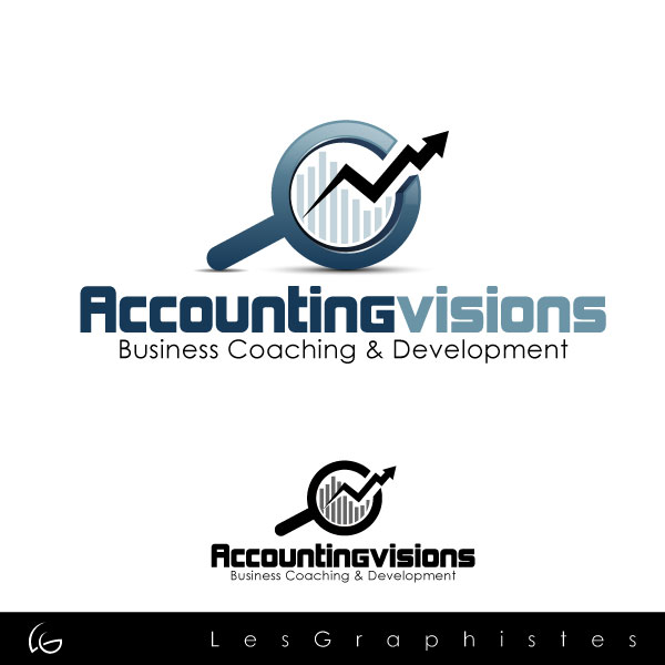 Logo Design by Les-Graphistes - Entry No. 76 in the Logo Design Contest Accounting Visions.
