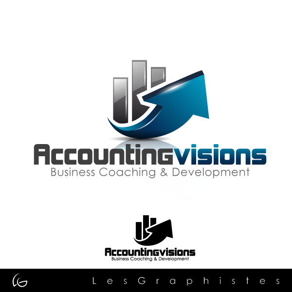 Logo Design by Les-Graphistes - Entry No. 77 in the Logo Design Contest Accounting Visions.