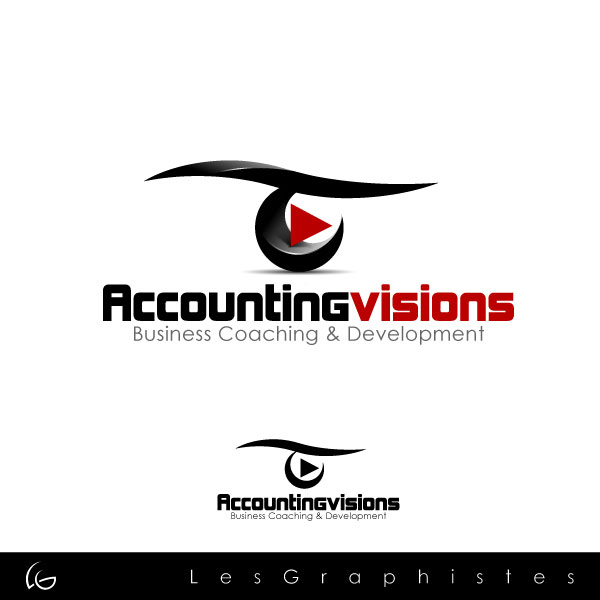 Logo Design by Les-Graphistes - Entry No. 78 in the Logo Design Contest Accounting Visions.