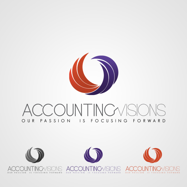 Logo Design by corinanika - Entry No. 80 in the Logo Design Contest Accounting Visions.