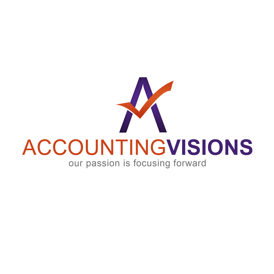 Logo Design by keekee360 - Entry No. 82 in the Logo Design Contest Accounting Visions.
