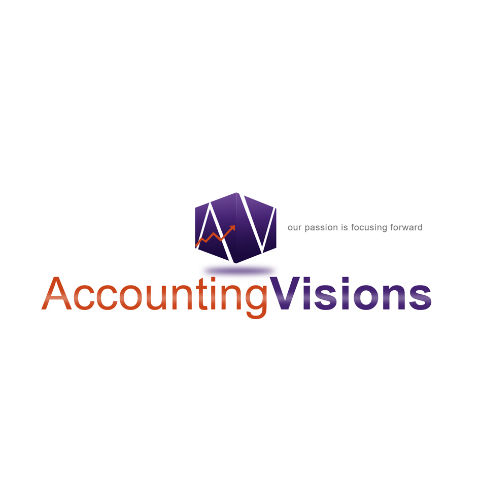 Logo Design by keekee360 - Entry No. 83 in the Logo Design Contest Accounting Visions.
