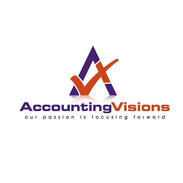 Logo Design by Freestyler - Entry No. 85 in the Logo Design Contest Accounting Visions.