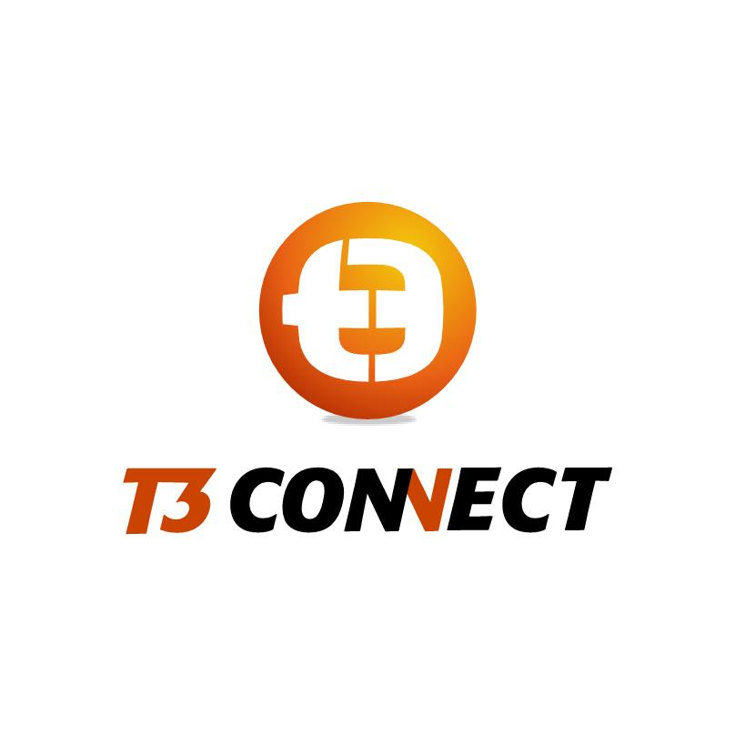 Logo Design by luvrenz - Entry No. 29 in the Logo Design Contest T3 CONNECT Sports Marketing logo.