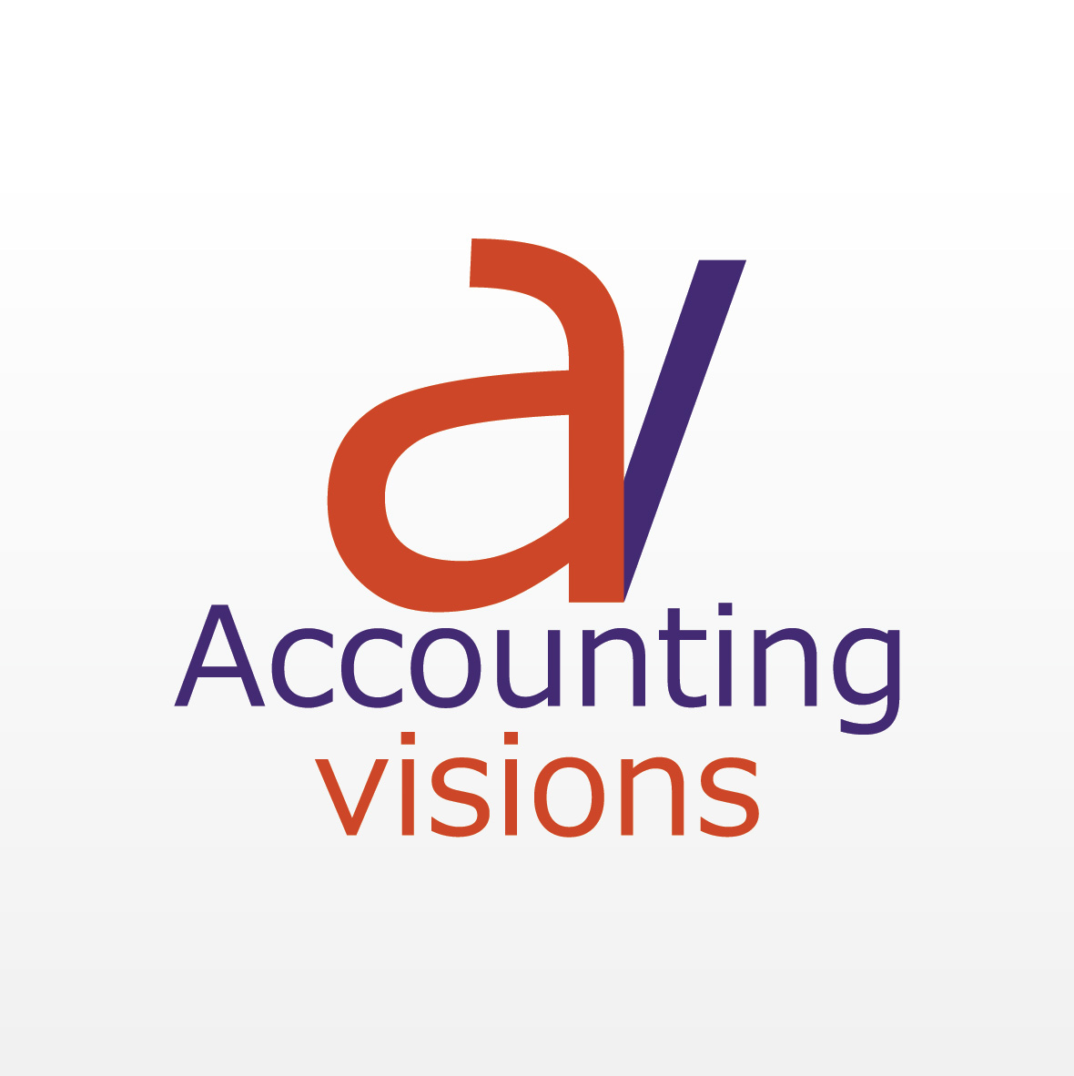 Logo Design by aesthetic-art - Entry No. 87 in the Logo Design Contest Accounting Visions.