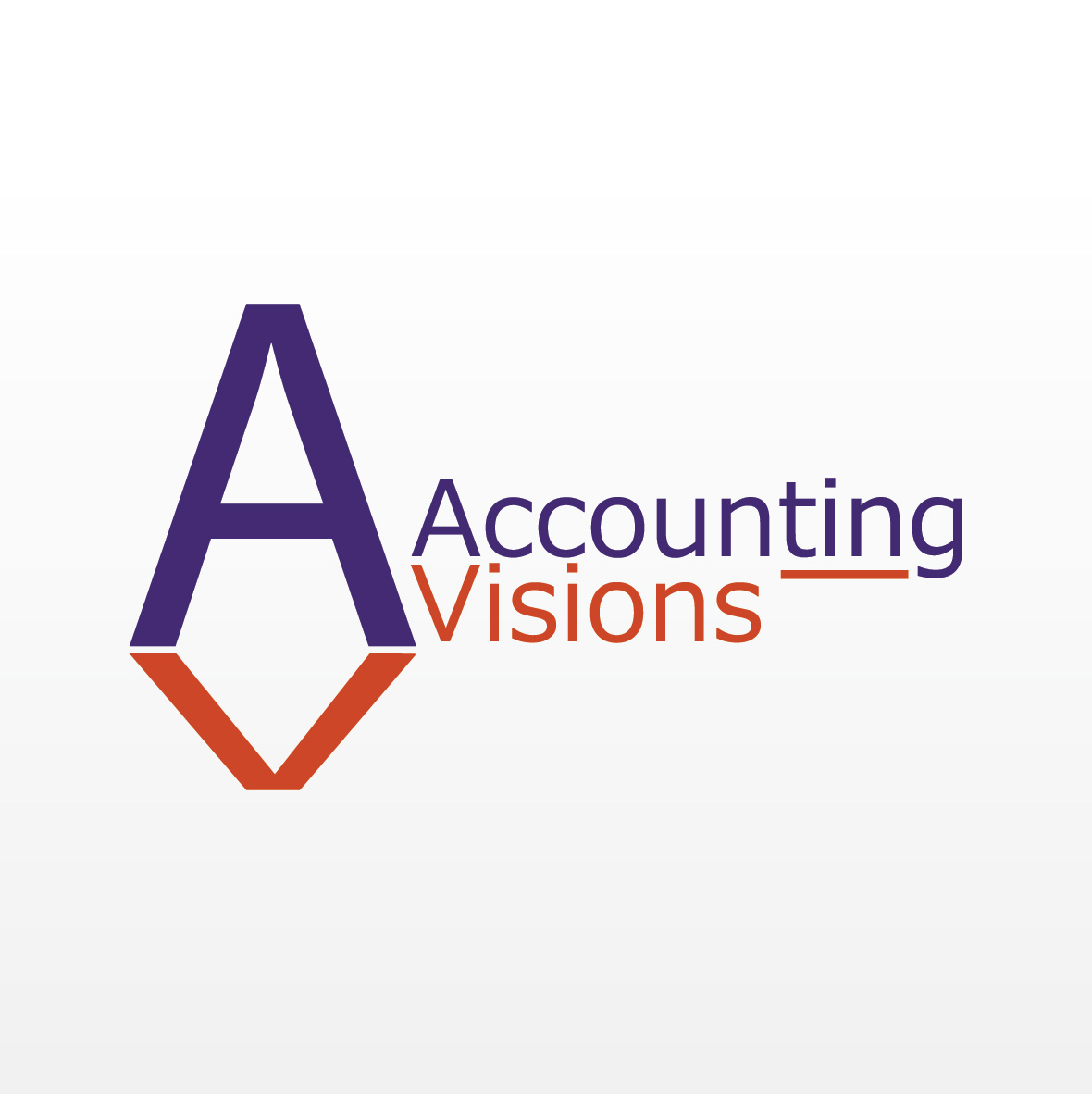 Logo Design by aesthetic-art - Entry No. 88 in the Logo Design Contest Accounting Visions.