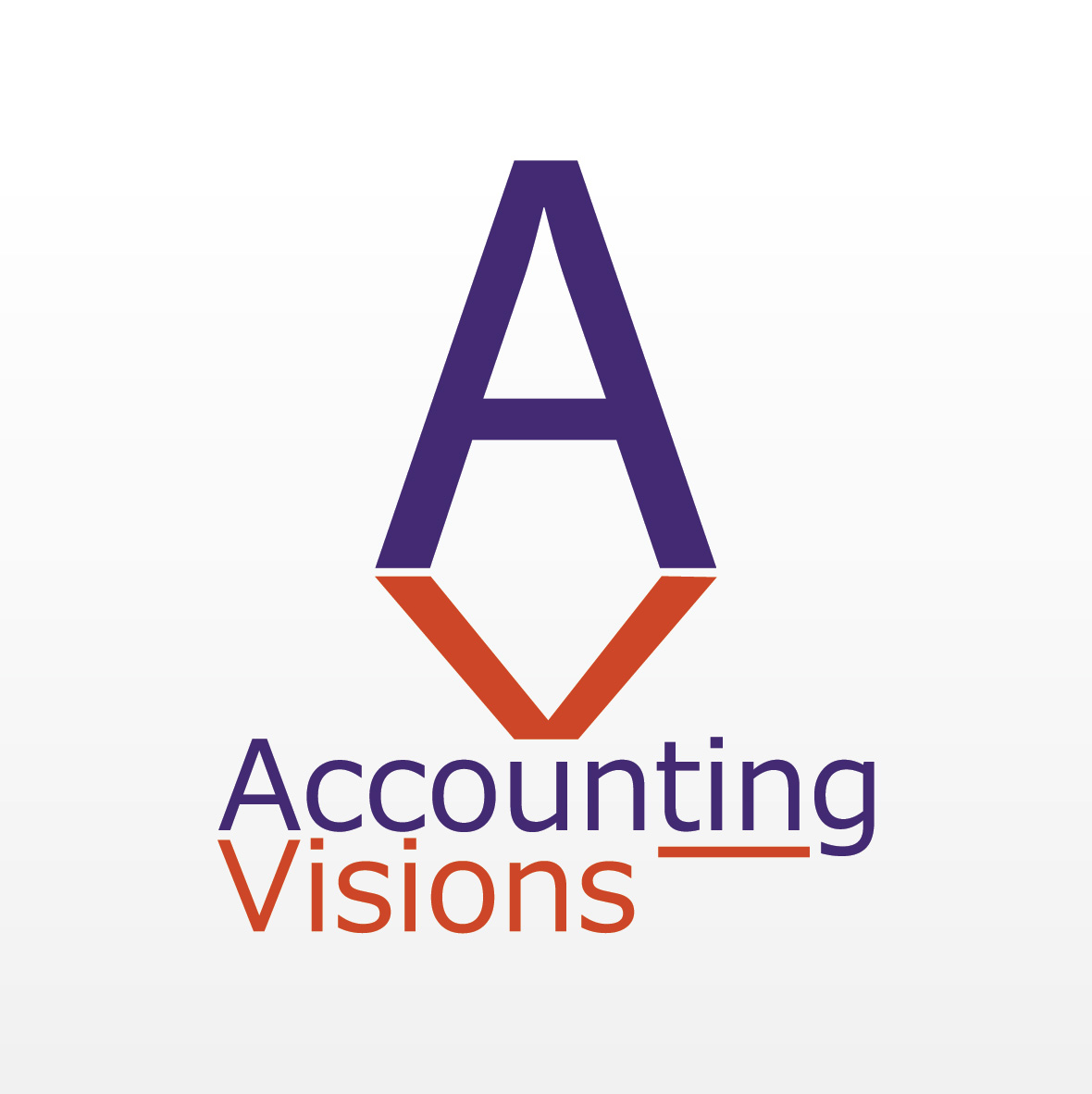 Logo Design by aesthetic-art - Entry No. 89 in the Logo Design Contest Accounting Visions.