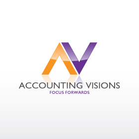 Logo Design by deux - Entry No. 91 in the Logo Design Contest Accounting Visions.