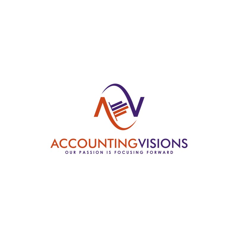 Logo Design by untung - Entry No. 93 in the Logo Design Contest Accounting Visions.