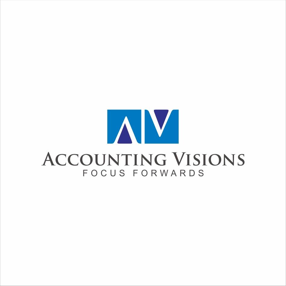 Logo Design by sihanss - Entry No. 95 in the Logo Design Contest Accounting Visions.