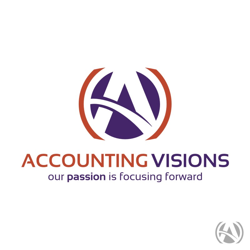 Logo Design by Private User - Entry No. 103 in the Logo Design Contest Accounting Visions.