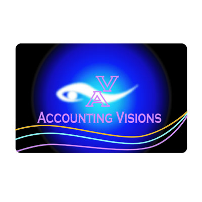 Logo Design by rythmx - Entry No. 105 in the Logo Design Contest Accounting Visions.