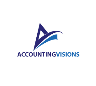 Logo Design by stormbighit - Entry No. 107 in the Logo Design Contest Accounting Visions.