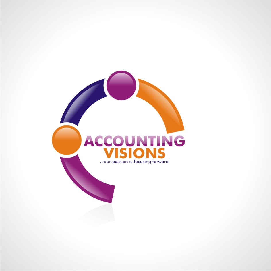 Logo Design by chandezin - Entry No. 108 in the Logo Design Contest Accounting Visions.