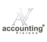 Logo Design by lestari - Entry No. 110 in the Logo Design Contest Accounting Visions.