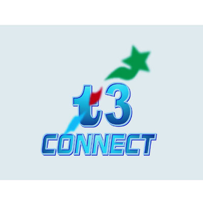 Logo Design by rythmx - Entry No. 38 in the Logo Design Contest T3 CONNECT Sports Marketing logo.