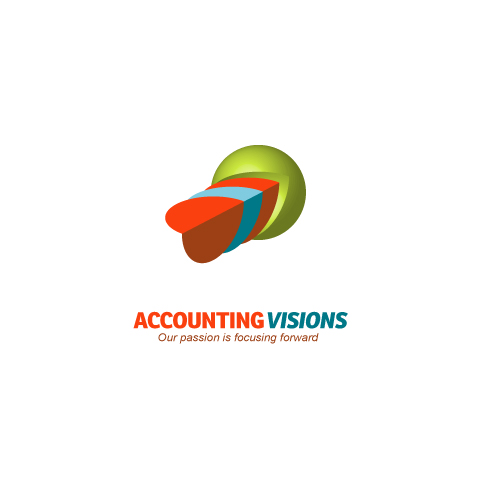 Logo Design by navin - Entry No. 111 in the Logo Design Contest Accounting Visions.