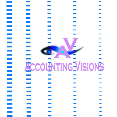 Logo Design by rythmx - Entry No. 112 in the Logo Design Contest Accounting Visions.