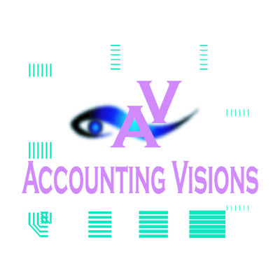 Logo Design by rythmx - Entry No. 113 in the Logo Design Contest Accounting Visions.