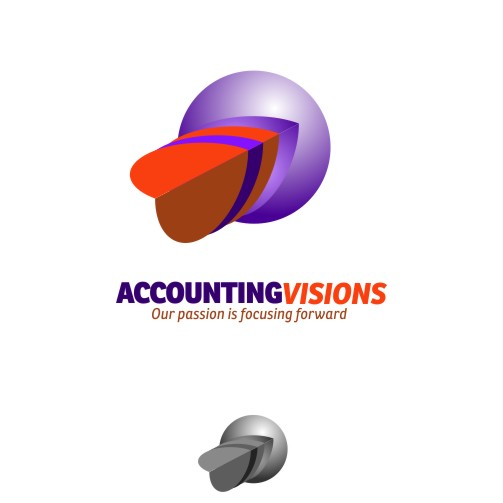 Logo Design by navin - Entry No. 114 in the Logo Design Contest Accounting Visions.