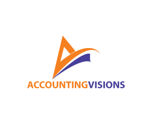 Logo Design by stormbighit - Entry No. 117 in the Logo Design Contest Accounting Visions.