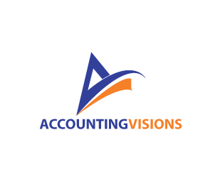 Logo Design by stormbighit - Entry No. 118 in the Logo Design Contest Accounting Visions.