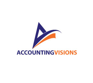Logo Design by stormbighit - Entry No. 122 in the Logo Design Contest Accounting Visions.