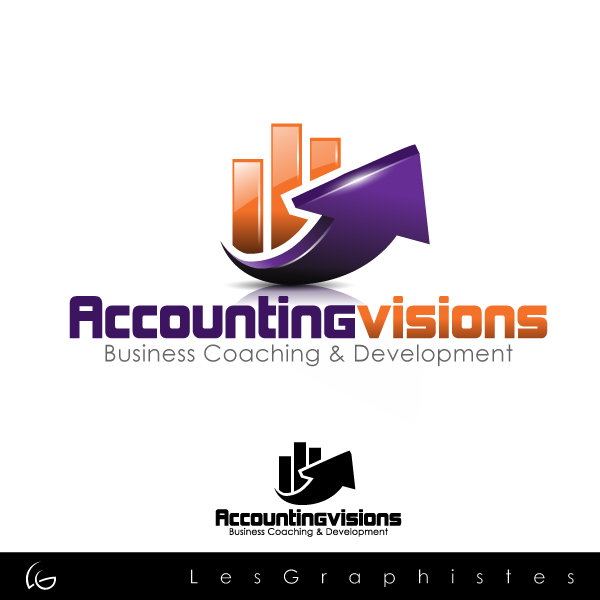 Logo Design by Les-Graphistes - Entry No. 125 in the Logo Design Contest Accounting Visions.