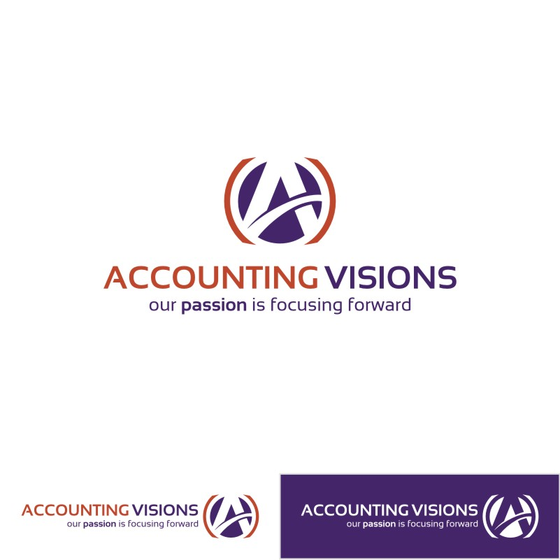 Logo Design by Private User - Entry No. 130 in the Logo Design Contest Accounting Visions.