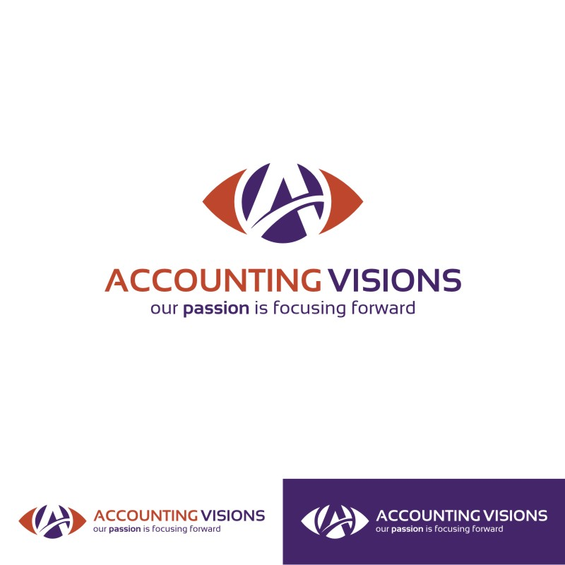 Logo Design by Private User - Entry No. 131 in the Logo Design Contest Accounting Visions.