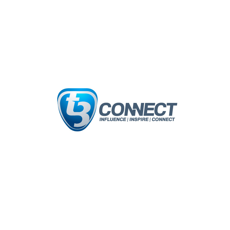 Logo Design by Emi Constantin - Entry No. 43 in the Logo Design Contest T3 CONNECT Sports Marketing logo.