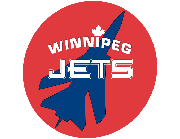 Logo Design by d656 - Entry No. 3 in the Logo Design Contest Winnipeg Jets Logo Design Contest.