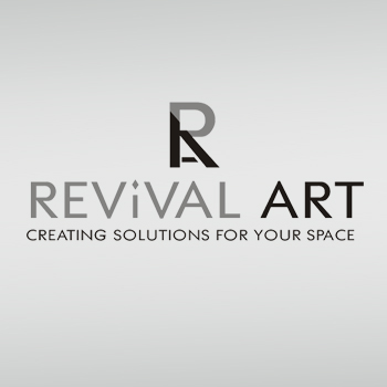 Logo Design by hafizshaikh7 - Entry No. 44 in the Logo Design Contest Revival Art.