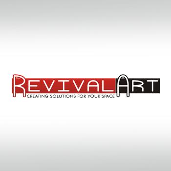 Logo Design by hafizshaikh7 - Entry No. 45 in the Logo Design Contest Revival Art.