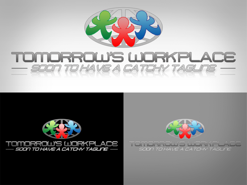 Logo Design by jcmontero - Entry No. 104 in the Logo Design Contest Tomorrow's Workplace.